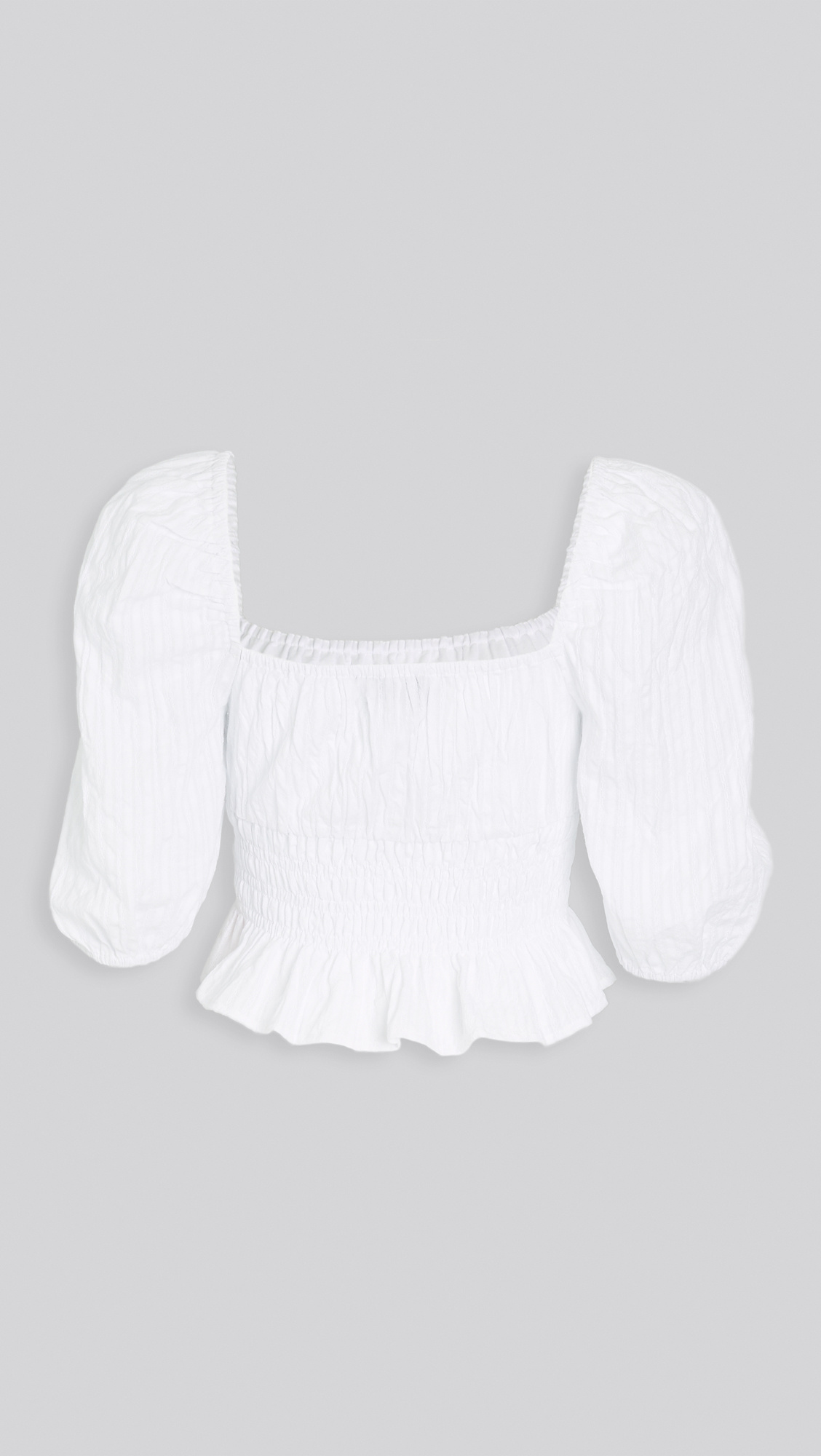 Heart Strings Blouse WHT-2