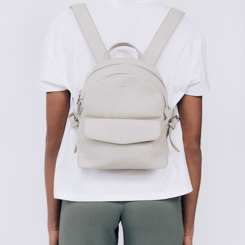 Small 2 Zip Backpack-1