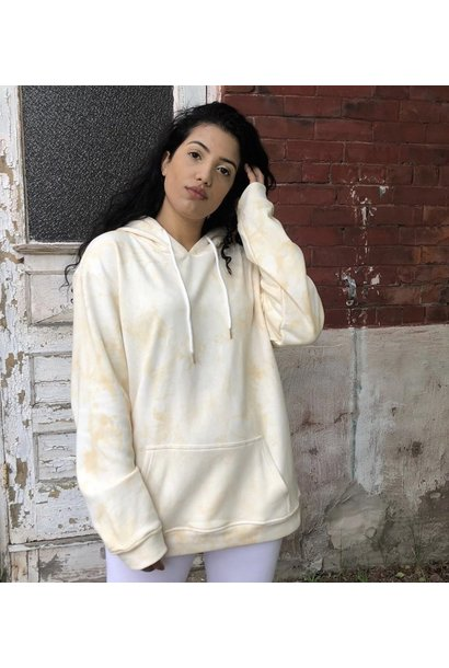 Buttercream Boxy Hoodie CRM
