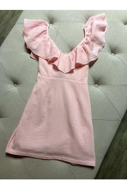Frills Mini Dress PNK