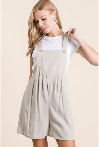 Pleat Front Overall TAU