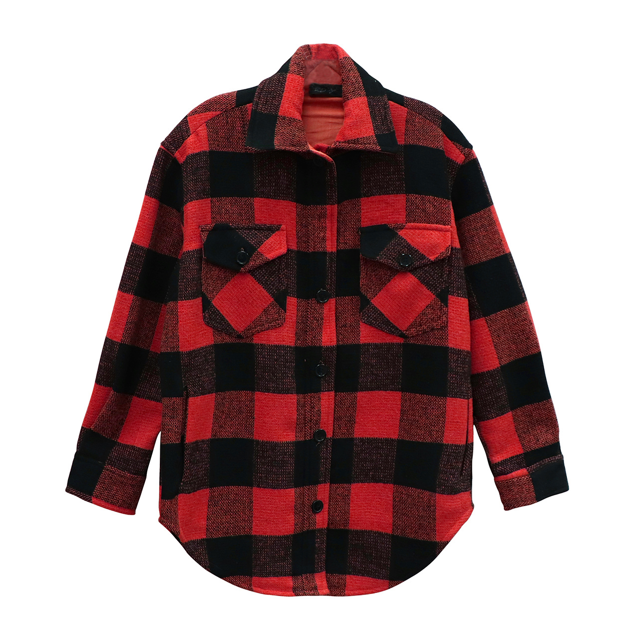 Chester Plaid Jacket RED-2