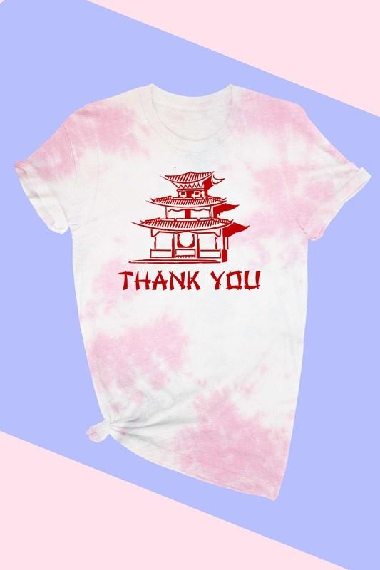 Thank You Tee PNK WSH-3