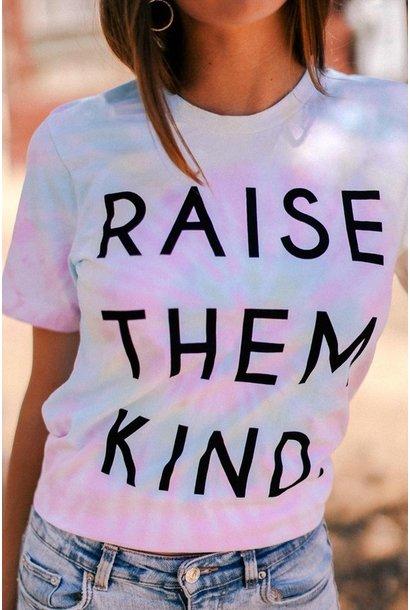 Raise Them Kind Tee PNK