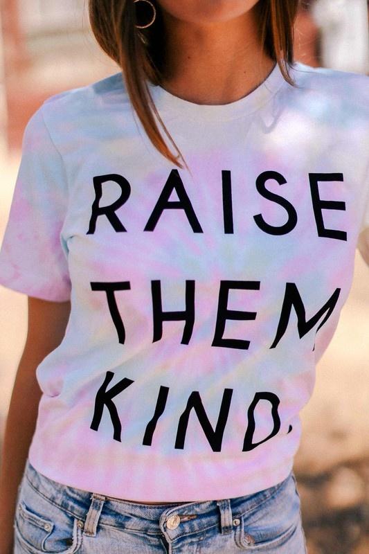 Raise Them Kind Tee PNK-1