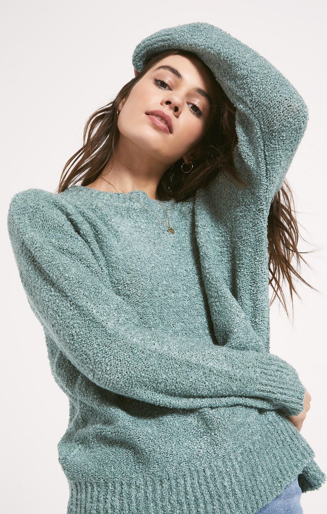 Westbourne Sweater AQUA-1