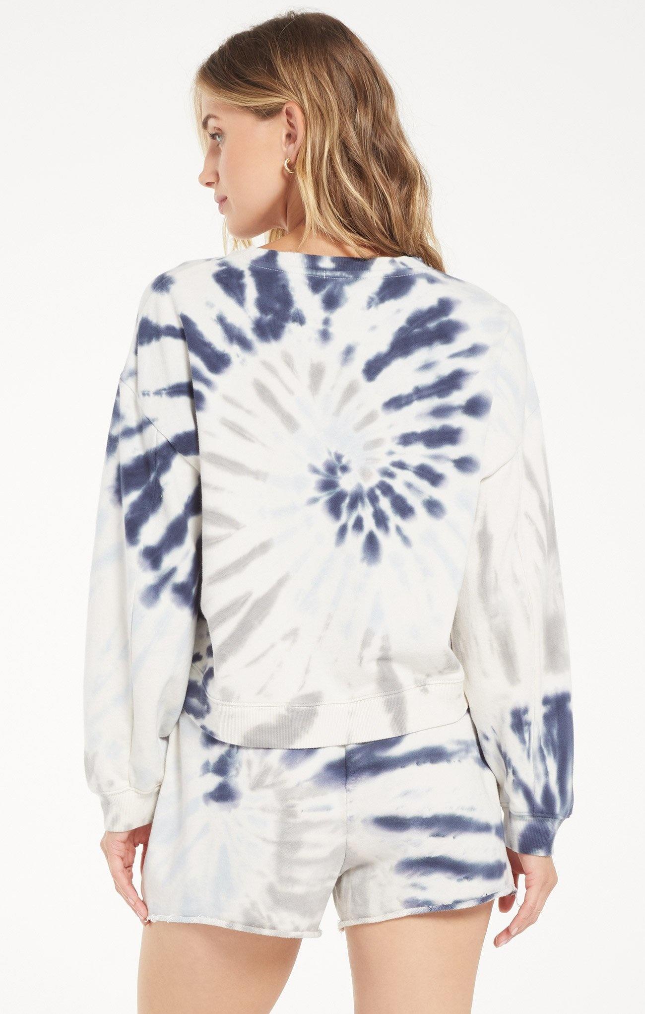 Tie Dye PullOver INDIGO-3