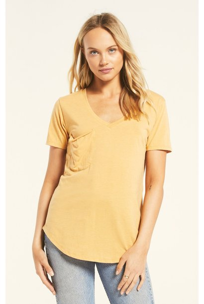 Pocket Tee MARIGOLD