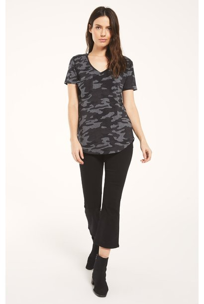 Z Supply Camo Pocket Tee CHAR