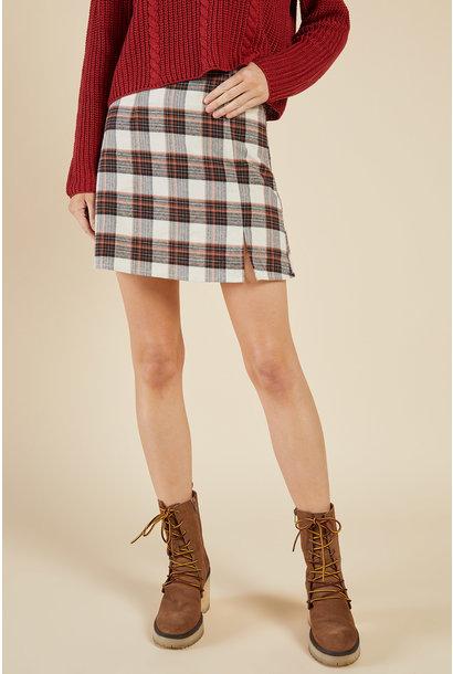 Explorer Plaid Skirt MUL