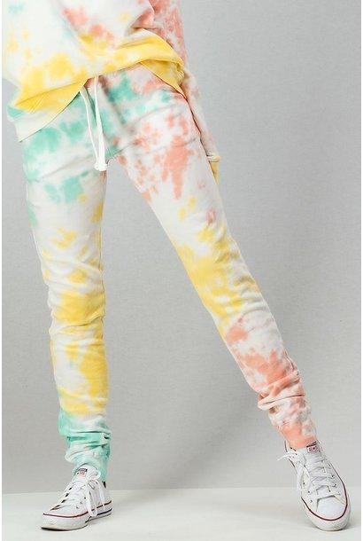 Tie Dye Sweatpants MINT/COR