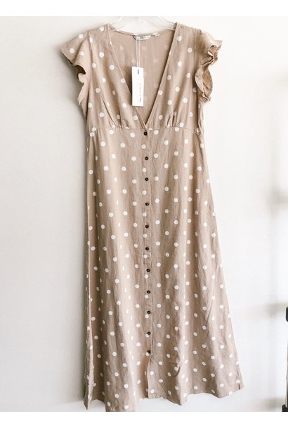 Only Becca Polka Dot Maxi Dress HUMMAS