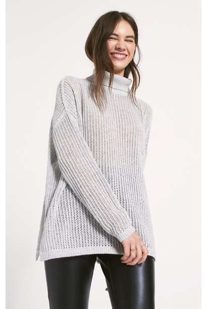 Oxford TurtleNeck Sweater GRY