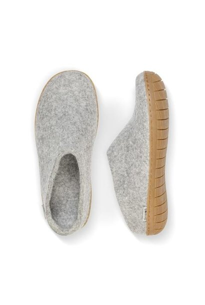 Rubber Sole Slip On GRY