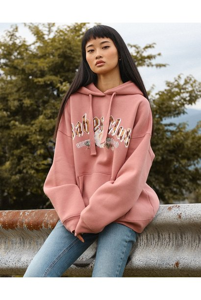 Babes Club Big Sis Hoodie ROSE