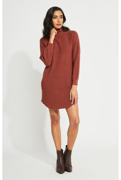 Carter Sweater Dress ROSE