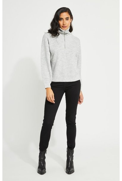 Campbell 1/2 Zip Sweater GRY