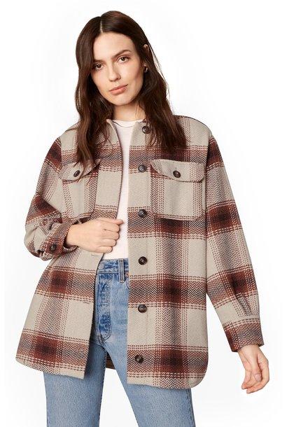 Lucky Lumber Plaid Jacket TAN