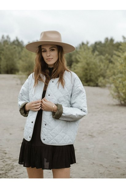 Tufa Quilted Jacket ASH GRY