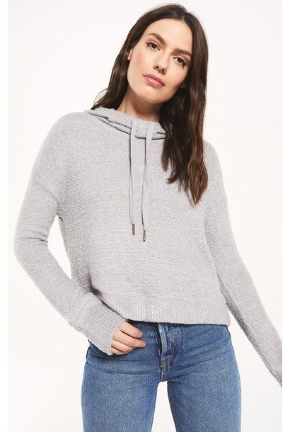 Kacey Feather Hoodie GRY