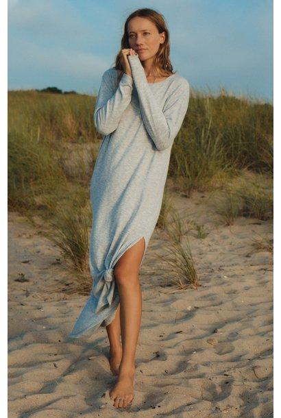 Ray Slub Sweater Dress ASH GRN