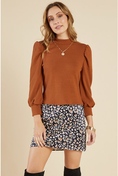 Chloe Mock Neck Top CAM