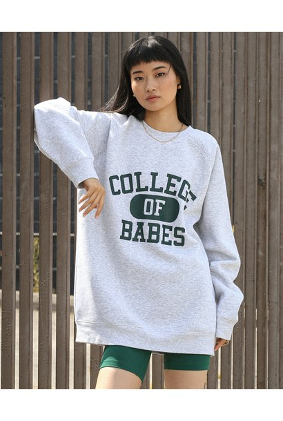College Of Babes Big Sister Crew GRY