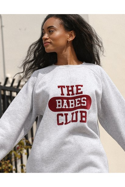 Babes Club College Big Sister Crew GRY