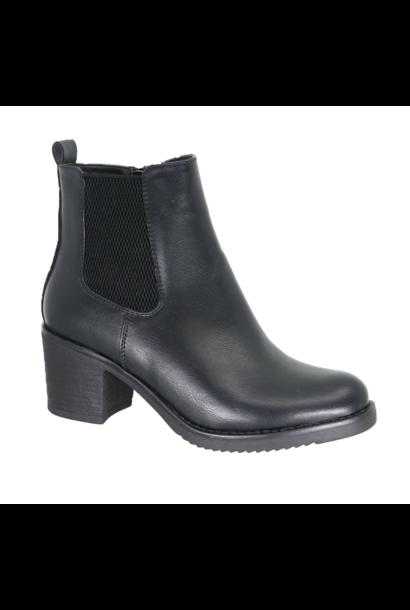 Parker Heel Chelsea Boot BLK