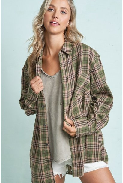 Bobby Boyfriend Plaid OLV