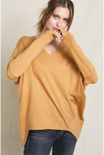 Vneck Boxy Sweater MUST