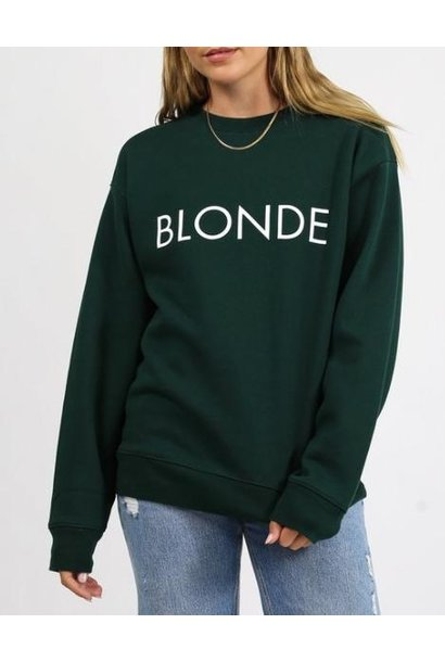 Blonde Crew Evergreen