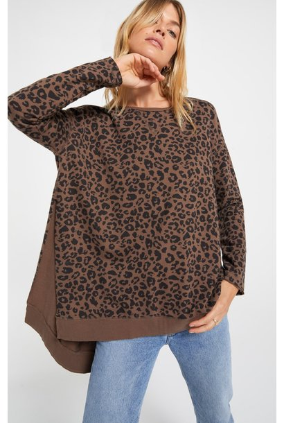 Leopard Weekender BRN