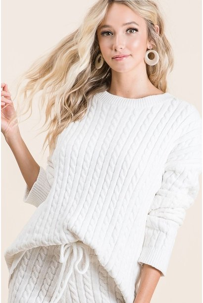 Polly Cozy Sweater IVRY