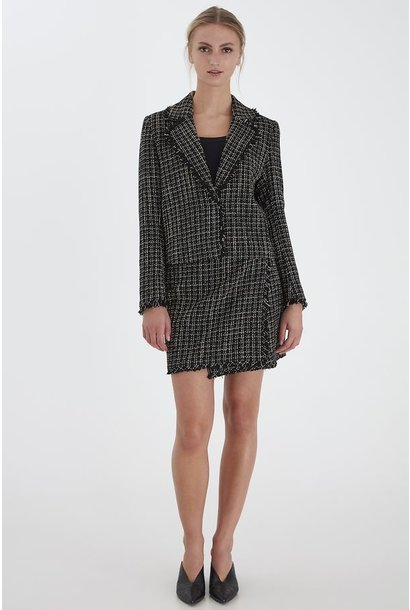 Helani Tweed Blazer BLK