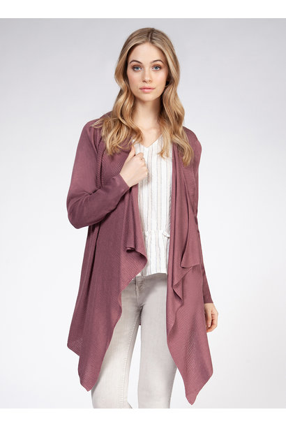 Waterfall Cardi ROSE