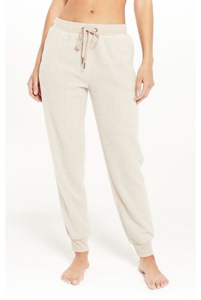 Lazy Days Fleece Jogger BIRCH