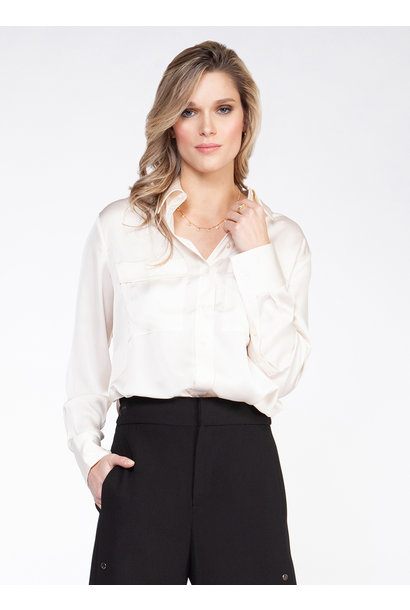 Button Down Blouse OWHT