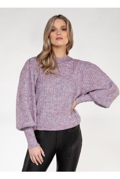 Confetti Puff Sleeve Sweater PRP