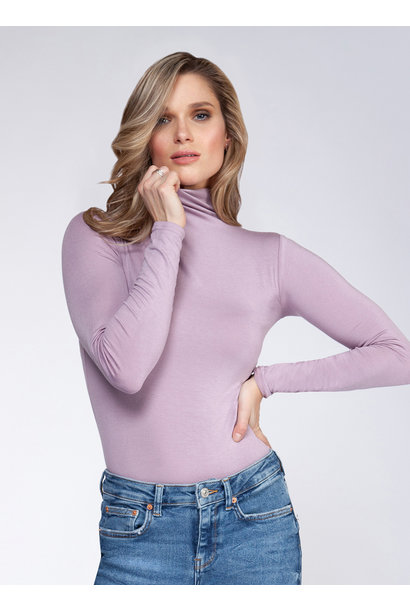 Basic Long Sleeve Mock Neck PRP