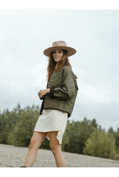 Tufa Quilted Jacket MOSS