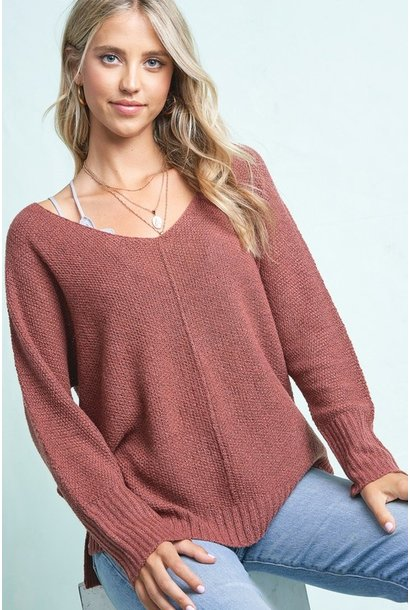 Melly Knit Sweater MARS