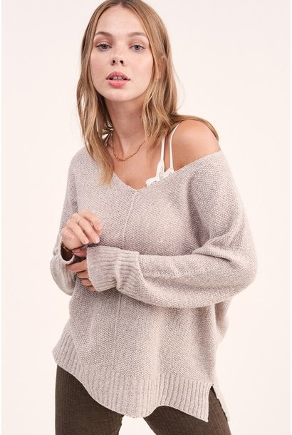 Melly Knit Sweater TAU