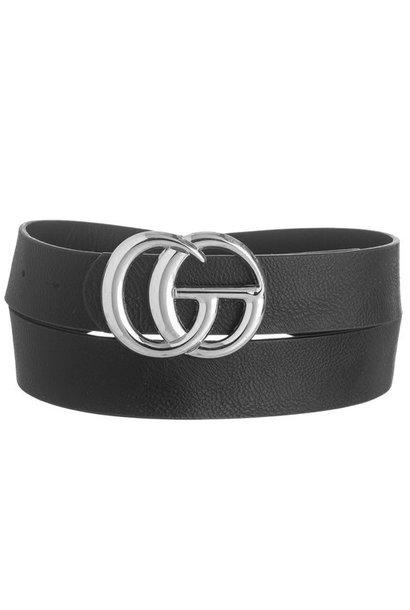 Jenny Joans GO Belts BLK/SIL
