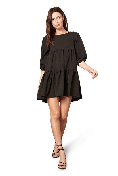 Brocade the Rules Dress BLK