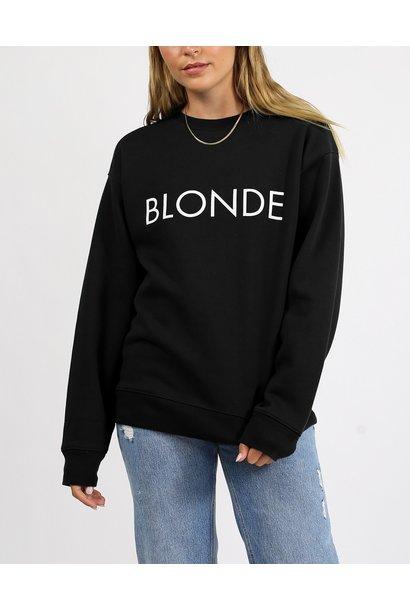 Blonde Crew BLK