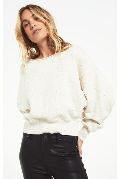 Allie Speckled SweatShirt NAT