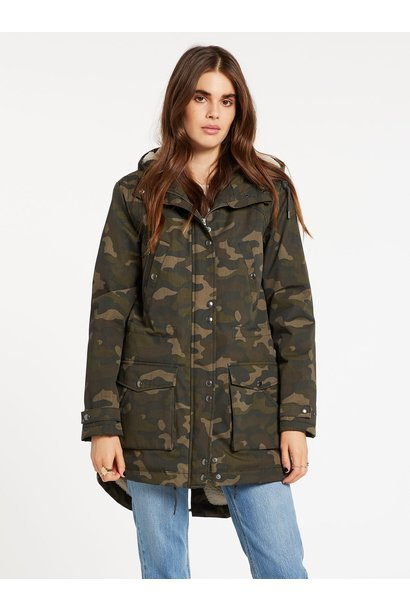 Walk On By Jacket CAMO