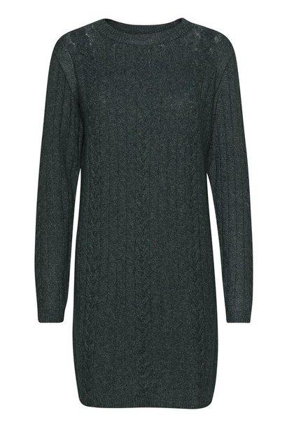 Maryn Knit Sweater Dress GRN