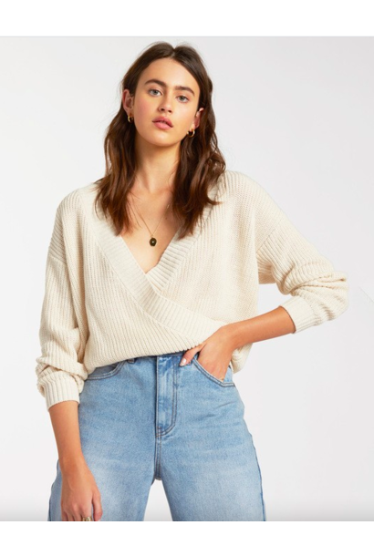 Bring It Wrap Sweater CRM